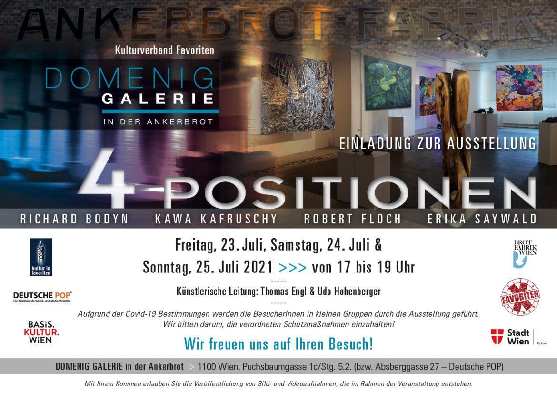 4 Positionen